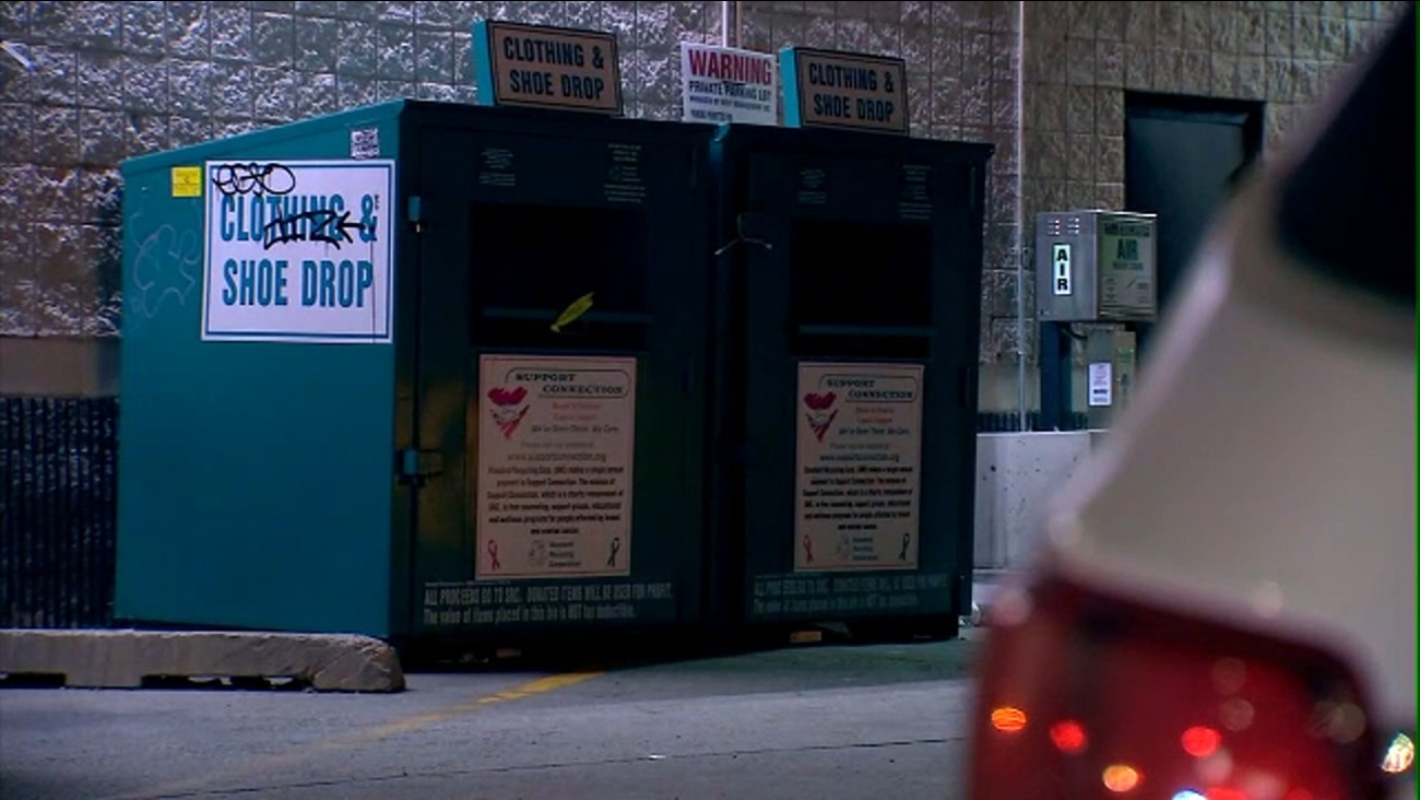Man Found Dead Inside Metal Donation Box With Belt Around Neck In Queens