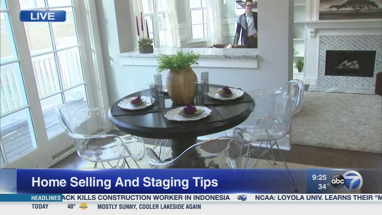 How to stage a home for the spring sales market | abc7chicago.com