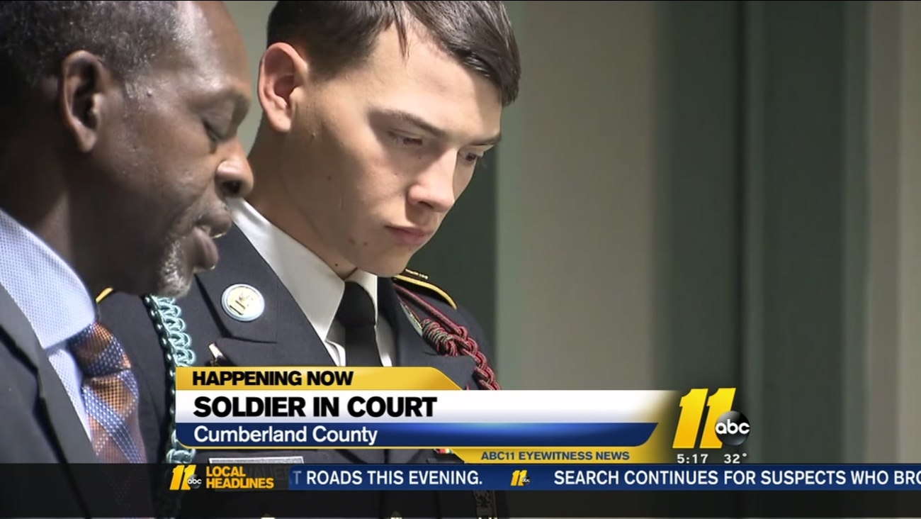 Soldier makes court appearance in child shooting
