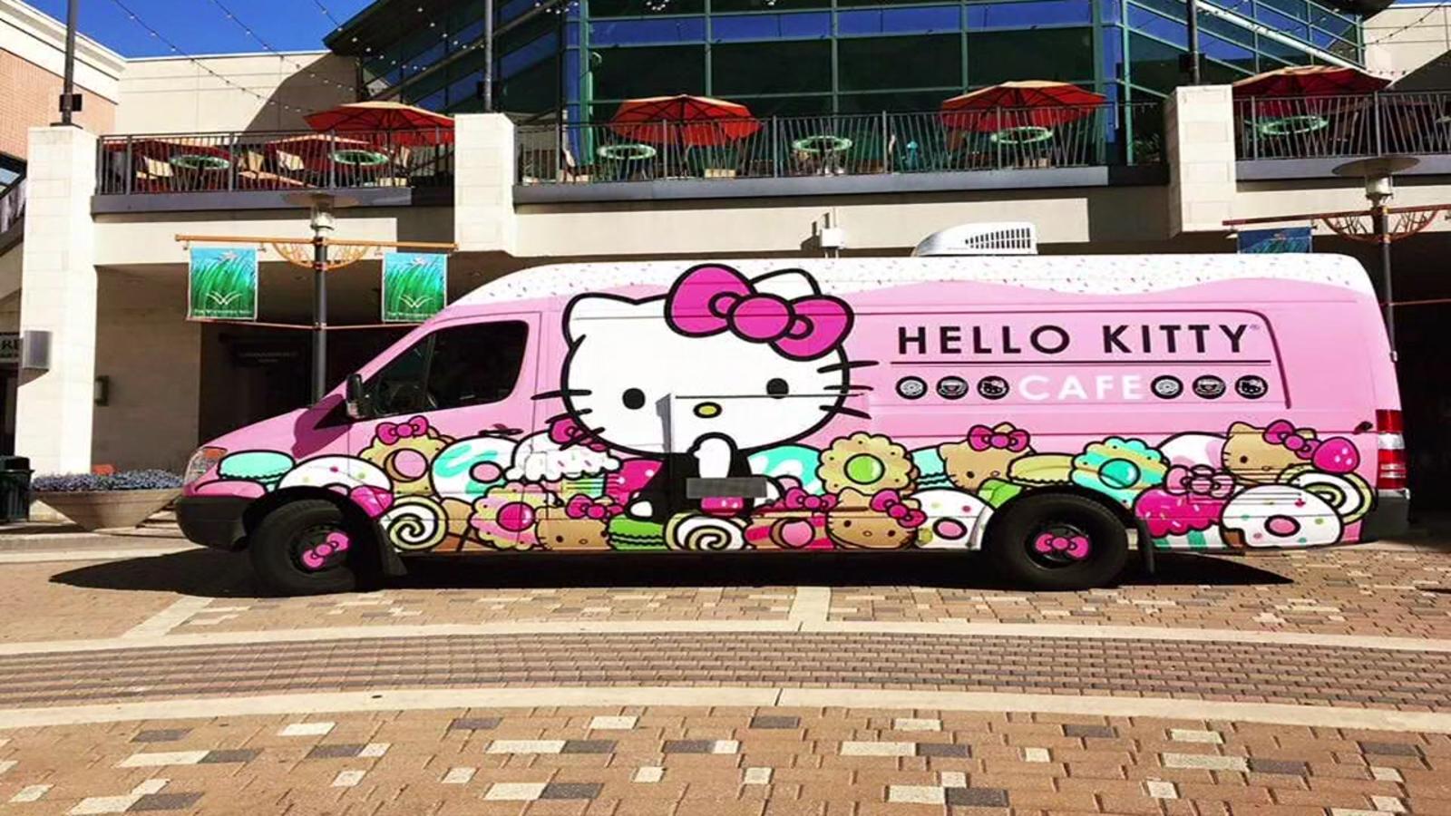 Hello Kitty Truck Bringing Treats To Houston Area Abc13