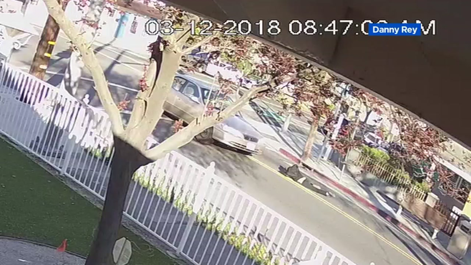 Hit and run of girl in crosswalk in San Jose caught on video