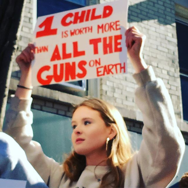 <div class='meta'><div class='origin-logo' data-origin='Creative Content'></div><span class='caption-text' data-credit='stylistofthelambs/Instagram'>Students protest during the #ENOUGH National School Walkout in New York City.</span></div>