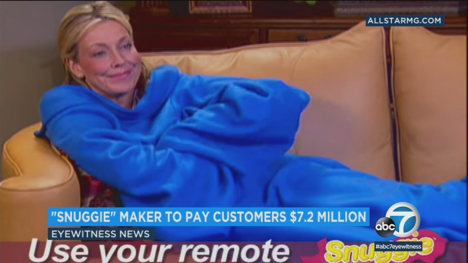 Snuggie Creators To Pay Customers 72 Million In Refunds For