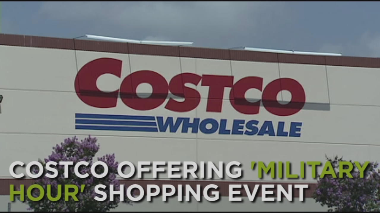 costco offering military hour shopping event 6abccom