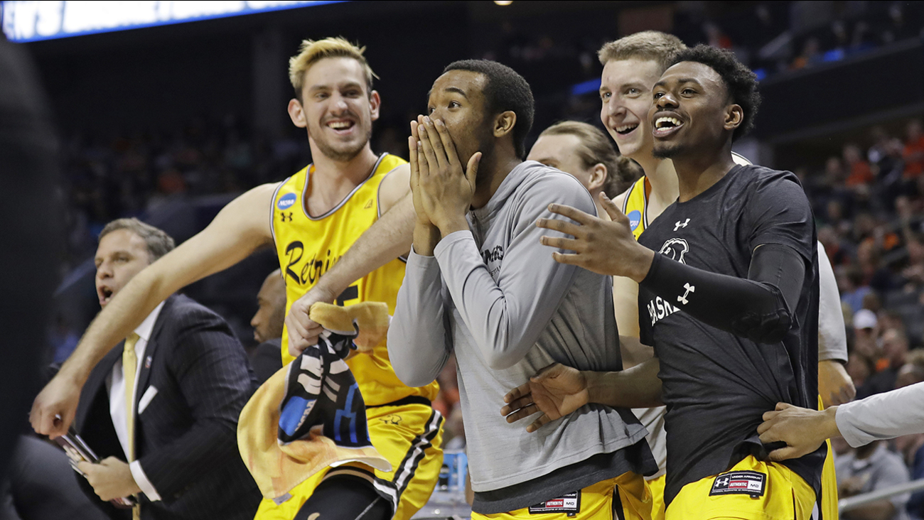 UMBC shocked the sports world, becoming the first No. 16 seed to knock off a No. 1 seed Friday night.