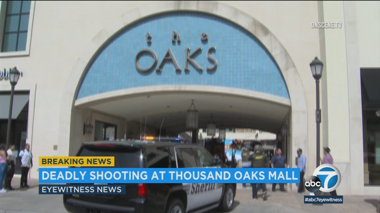1 dead, 1 hurt in shooting at The Oaks Mall in Thousand Oaks