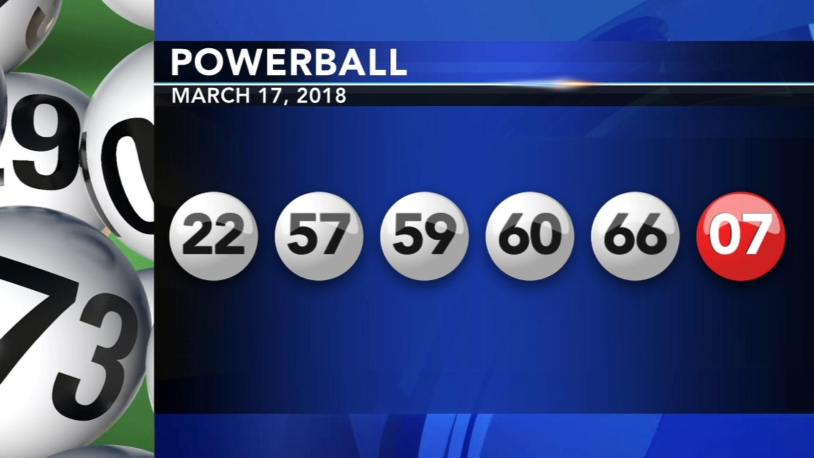 456m Powerball Ticket Sold In Pennsylvania Abc7 Com