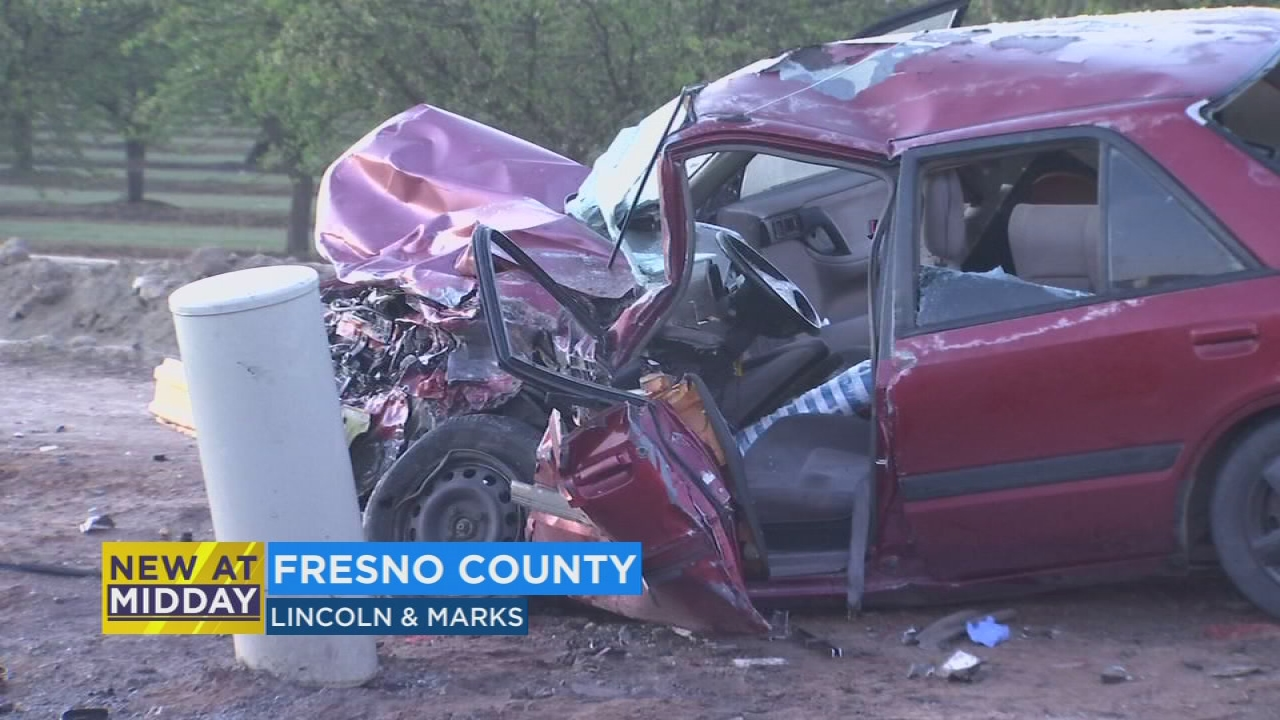 Man Suffers Major Injuries After Early Morning Crash In Fresno