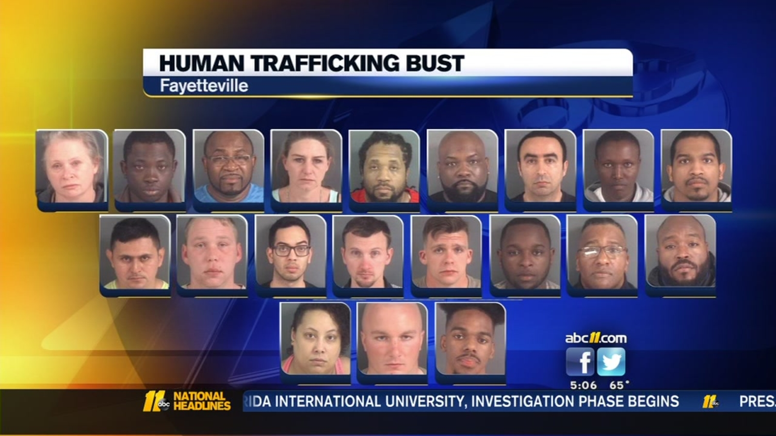 20 Arrested In Undercover Prostitution Bust In Fayetteville Abc11 Com