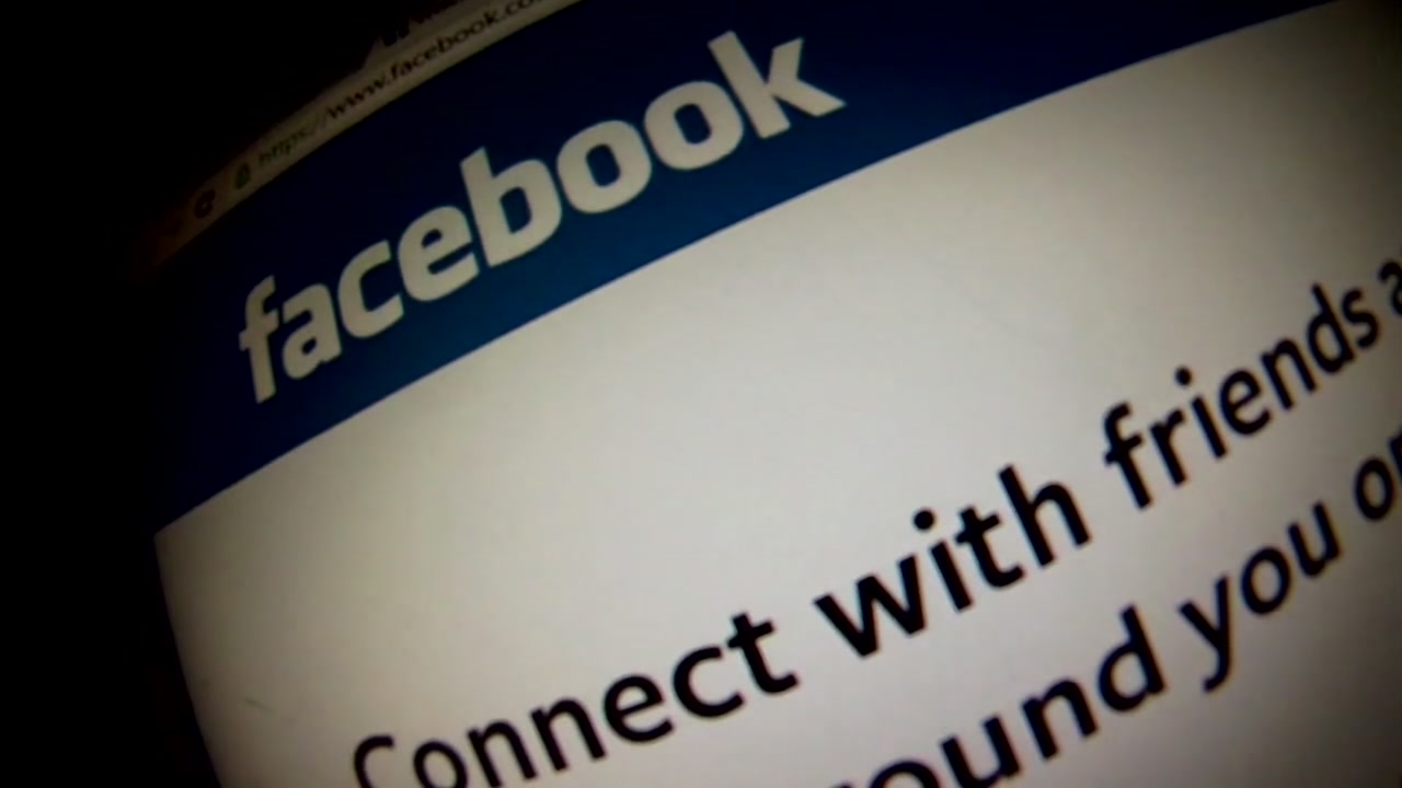 The Facebook homepage is pictured in this undated file photo.
