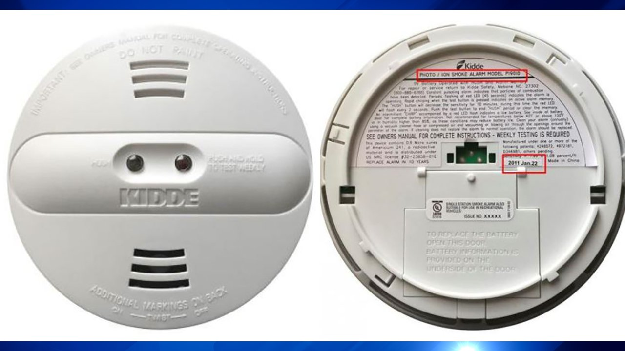 Kidde recalls dual sensor smoke alarms due to risk of failure to alert consumers to a fire