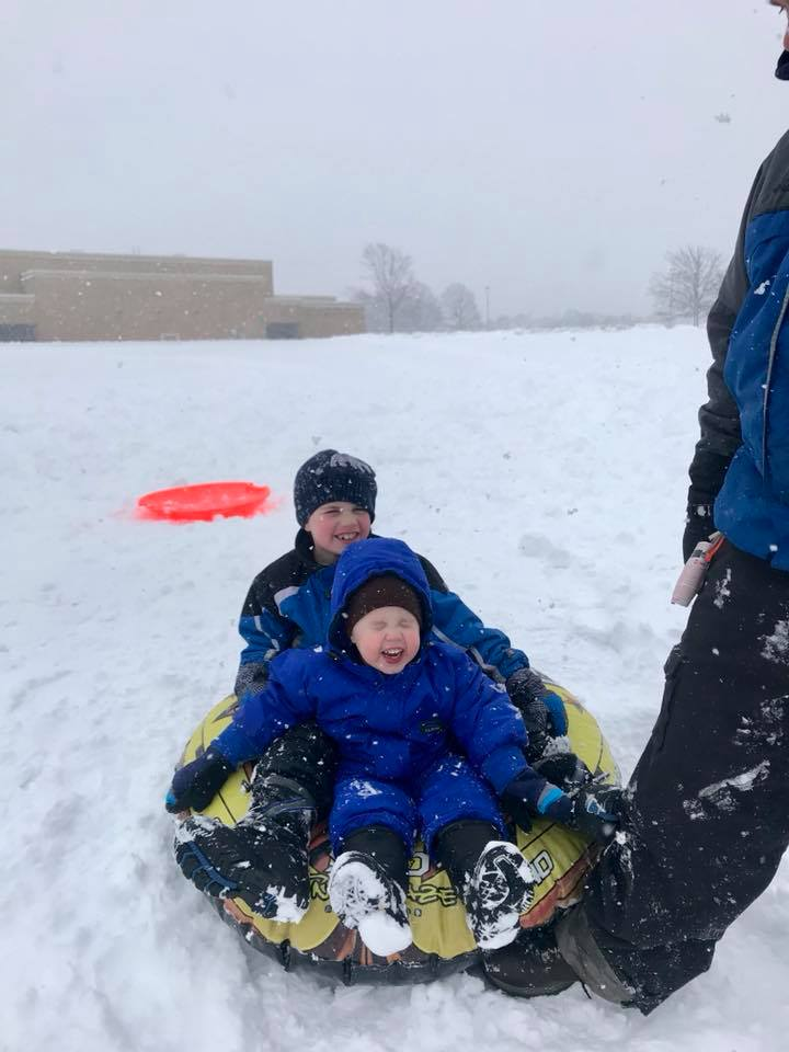 """<div class=""""meta image-caption""""><div class=""""origin-logo origin-image none""""><span>none</span></div><span class=""""caption-text"""">Perfect day for catching snowflakes and tubing! (Jenna Brown)</span></div>"""