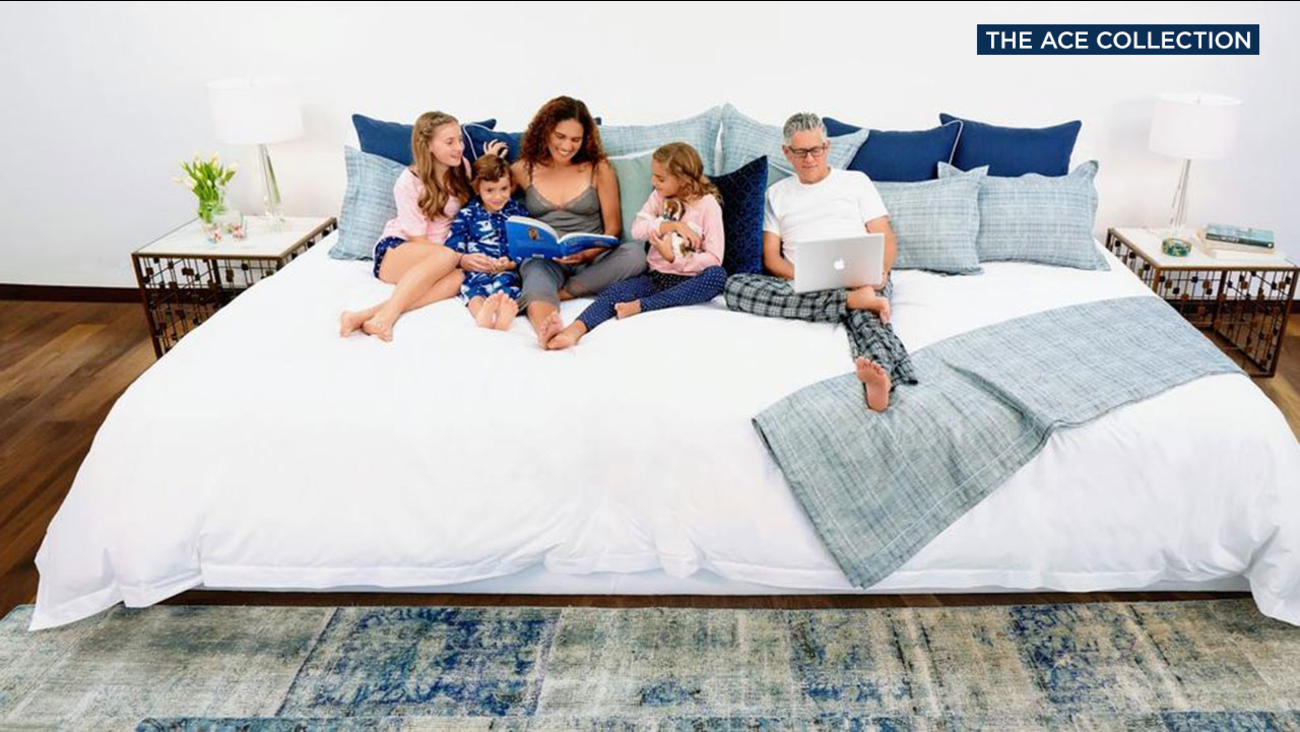 Want A Bigger Bed Firm Offers 12 Foot Wide Family Sized Mattress