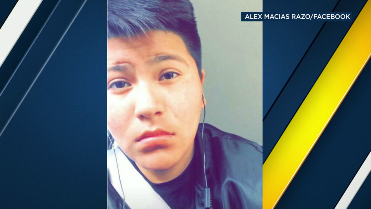 Brittany Razo, 17, who was known to most people as Alex because he was transitioning to become a boy, is shown in a photo.
