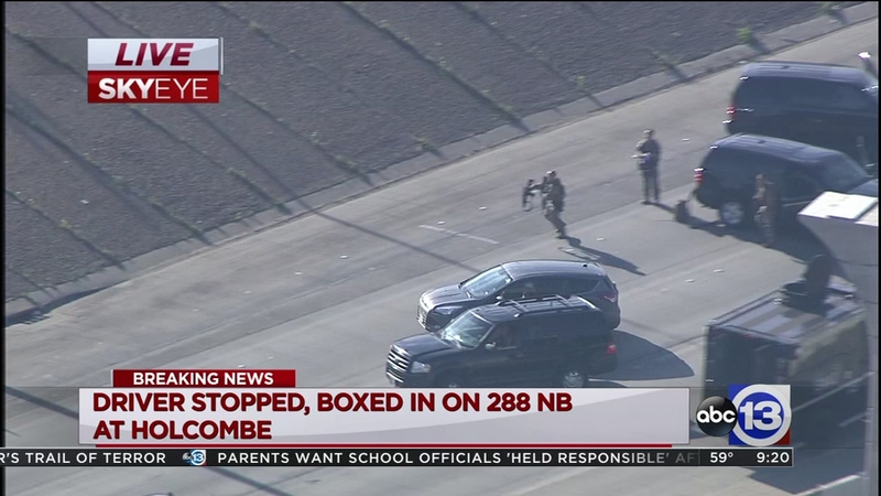Houston chase suspect in custody after wild 90-minute