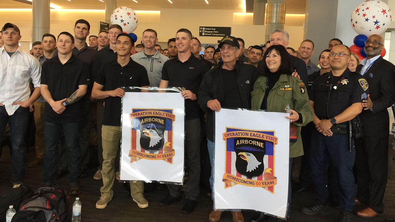 Adopted Vietnam War Unit Marks 50th Anniversary As San Mateos Own