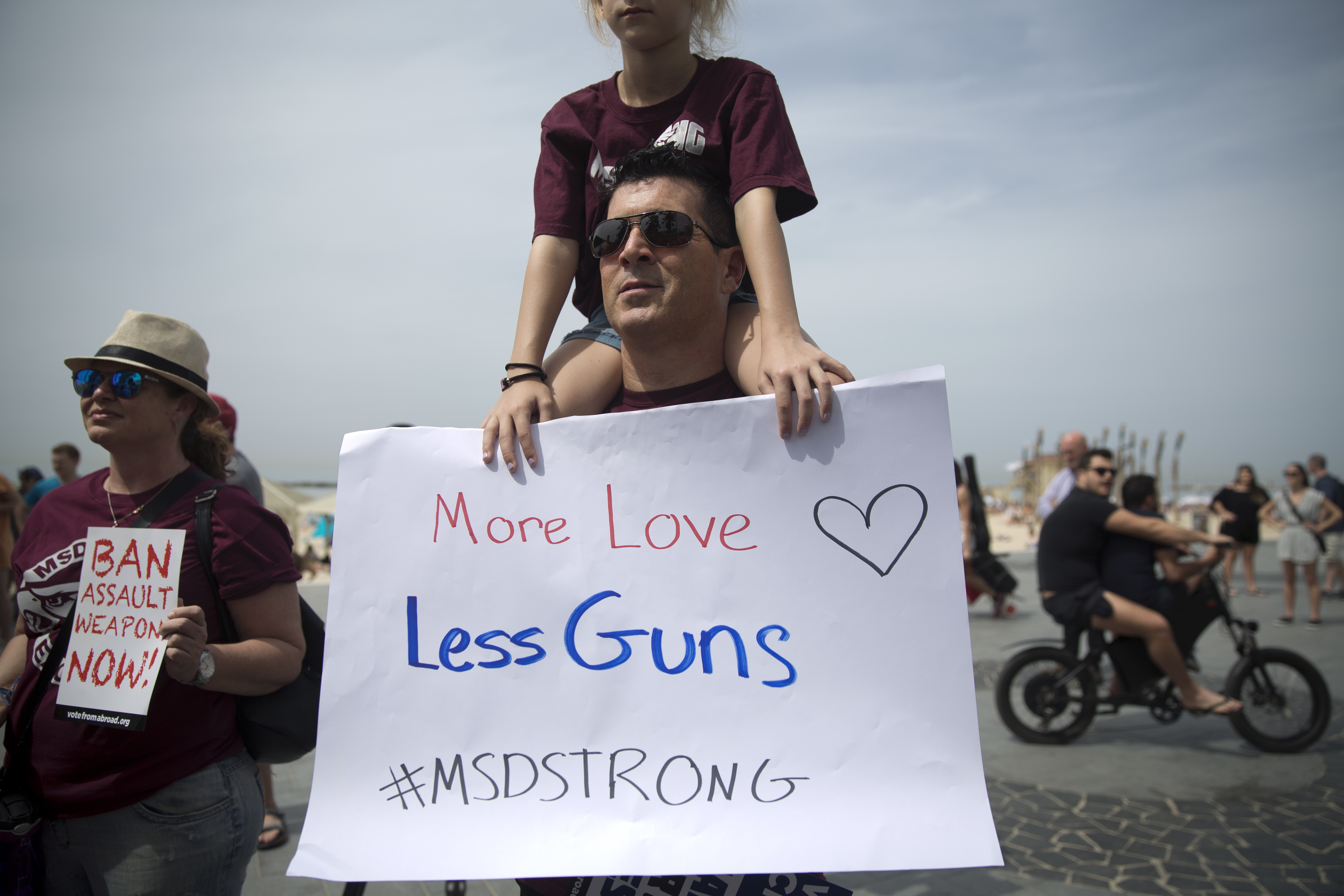 <div class='meta'><div class='origin-logo' data-origin='AP'></div><span class='caption-text' data-credit='AP'>Scenes for March for our Lives all over the world.</span></div>