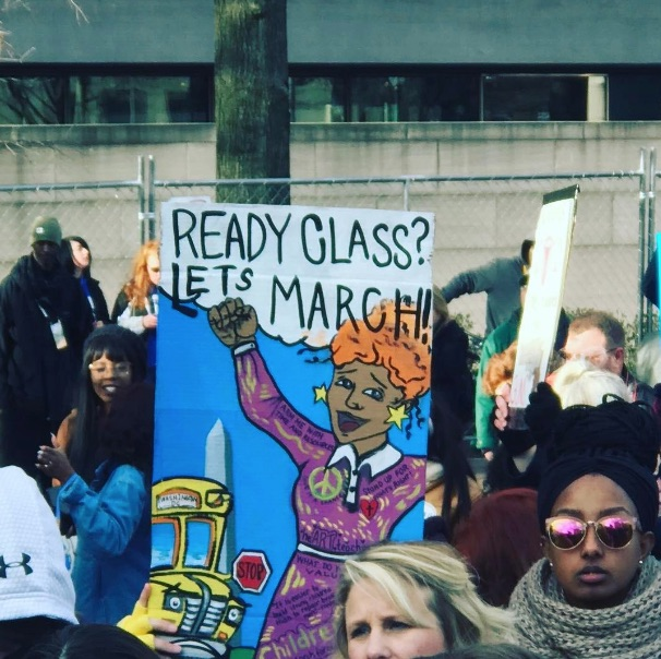 <div class='meta'><div class='origin-logo' data-origin='none'></div><span class='caption-text' data-credit='amiedurr79/Instagram'>See the signs demonstrators are carrying at March for Our Lives events around the country.</span></div>