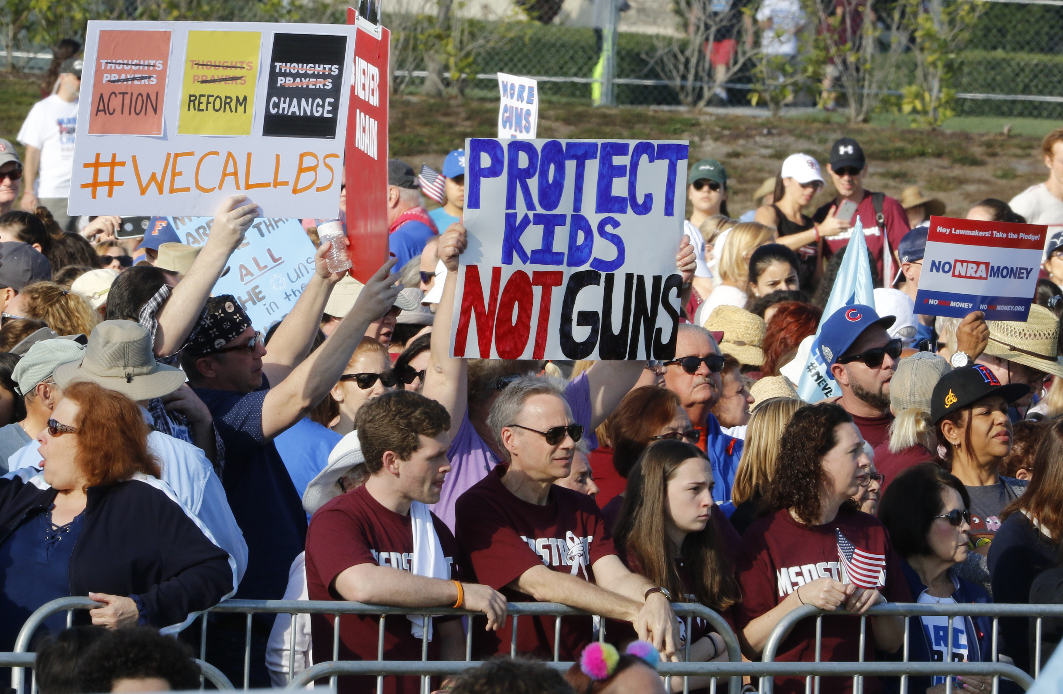 "<div class=""meta image-caption""><div class=""origin-logo origin-image ap""><span>AP</span></div><span class=""caption-text"">Participants gather during the March For Our Lives event Saturday, March 24, 2018, in Parkland, Fla. (AP Photo/Joe Skipper)</span></div>"