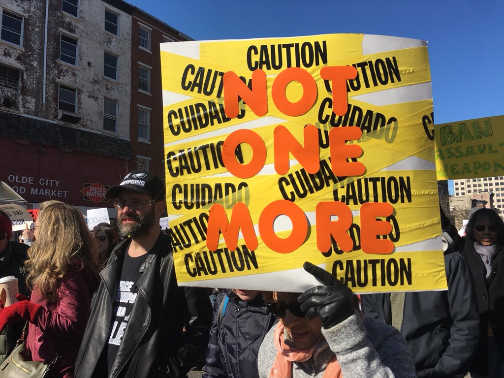 "<div class=""meta image-caption""><div class=""origin-logo origin-image none""><span>none</span></div><span class=""caption-text"">Pictured: March for Our Lives demonstration in Philadelphia on March 24, 2018.</span></div>"