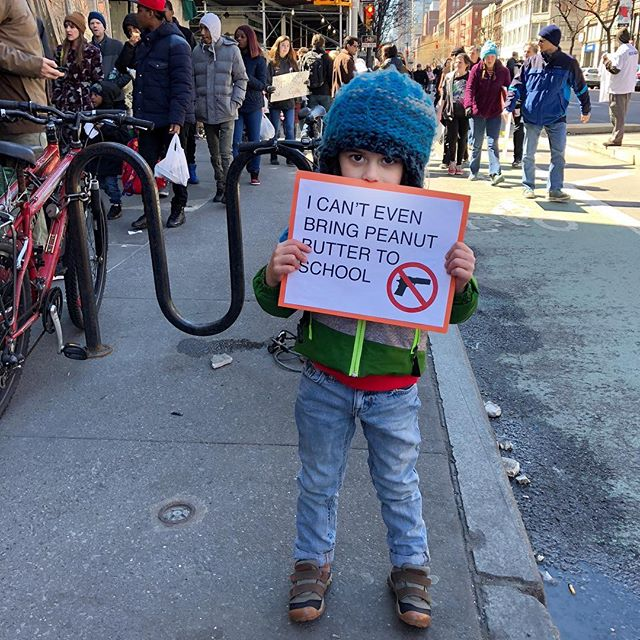 "<div class=""meta image-caption""><div class=""origin-logo origin-image none""><span>none</span></div><span class=""caption-text"">See the signs demonstrators are carrying at March for Our Lives events around the country. (claremarienyc/Instagram)</span></div>"