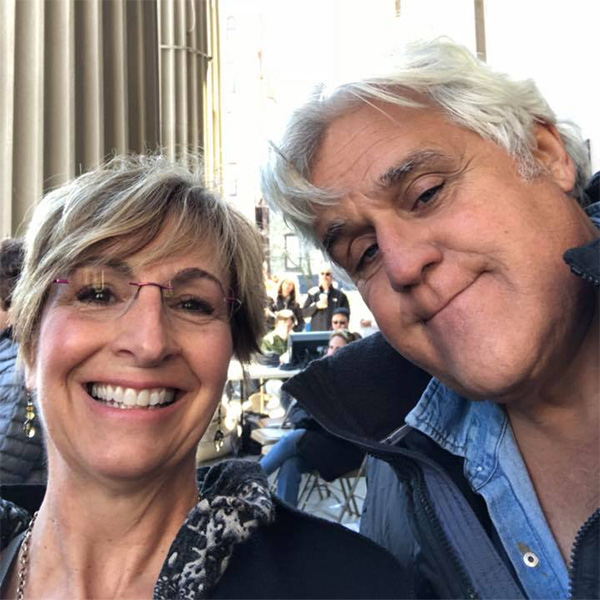 "<div class=""meta image-caption""><div class=""origin-logo origin-image wpvi""><span>WPVI</span></div><span class=""caption-text"">Jay Leno is pictured with Mayor Dianne Herrin of West Chester, Pa. during a March for Our Lives event on March 24, 2018.</span></div>"