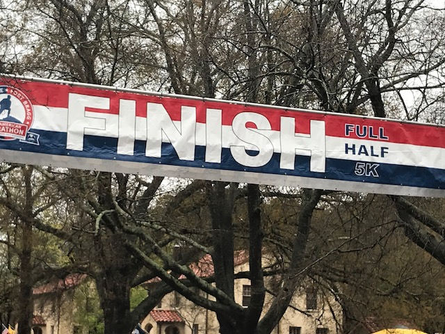 "<div class=""meta image-caption""><div class=""origin-logo origin-image none""><span>none</span></div><span class=""caption-text"">Thousands of people came out to run the All American Marathon on Sunday in Fayetteville.</span></div>"