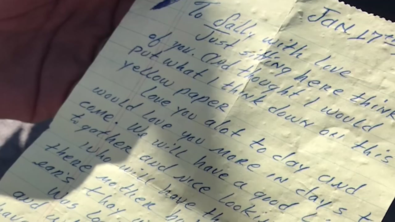 man finds love letter on the street written in 1977 | abc13