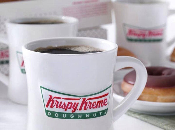 """<div class=""""meta image-caption""""><div class=""""origin-logo origin-image """"><span></span></div><span class=""""caption-text"""">Krispy Kreme is offering a free 12 oz. cup of dark roast coffee on Monday. Additionally, customers can buy a 12 oz. mocha, latte or iced coffee for $1. (Krisy Kreme/Facebook)</span></div>"""