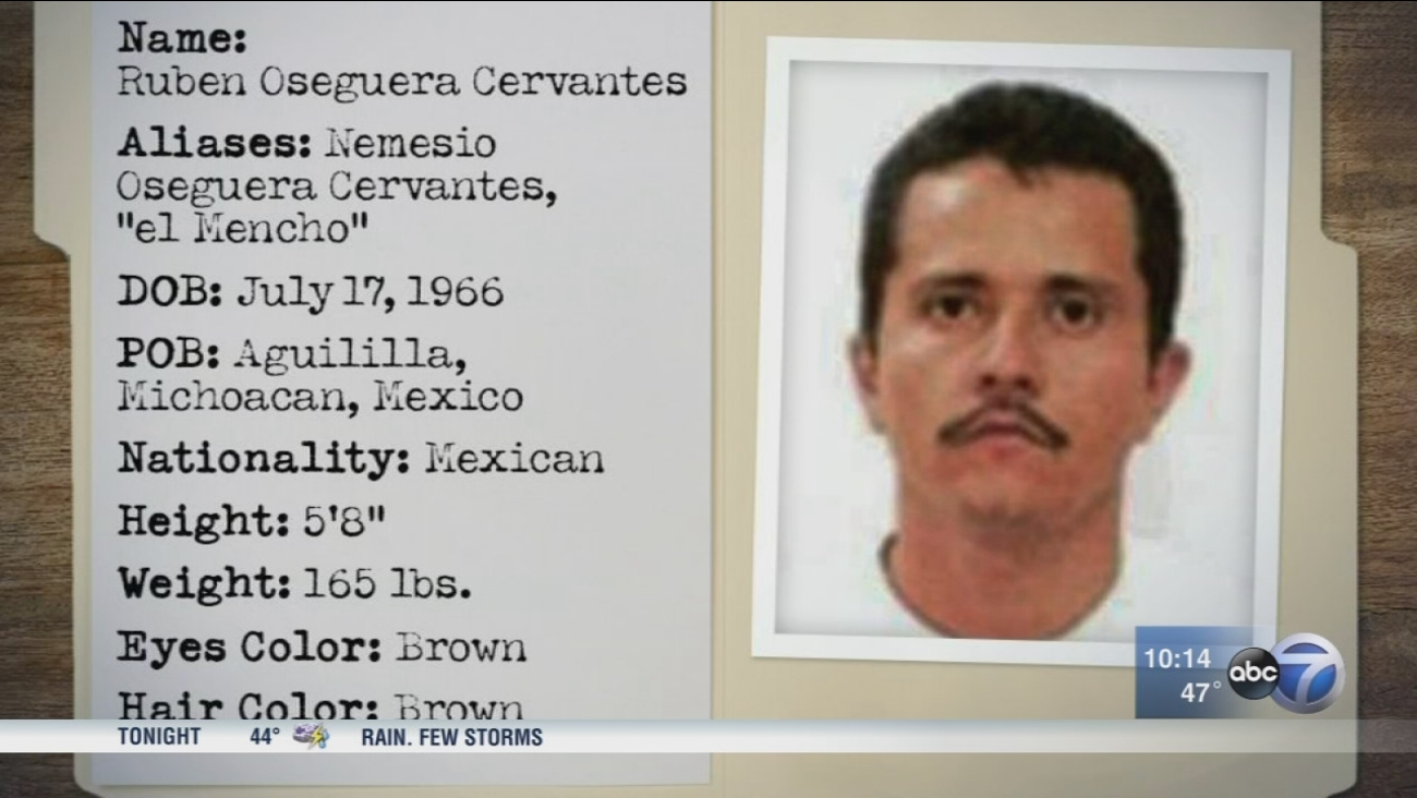 Chicago's new top narco lawman sets sights on 'El Mencho' accused cartel boss