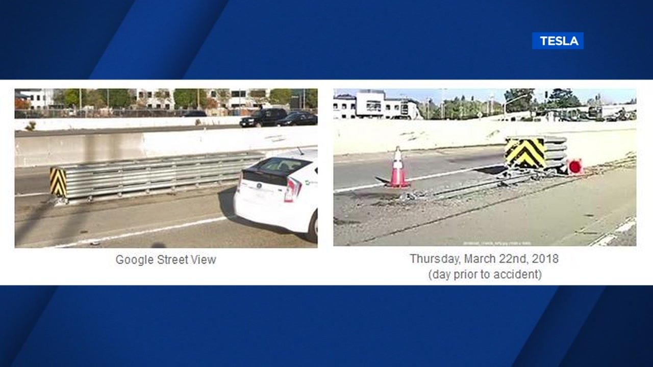 ONLY ON ABC7NEWS COM: Wife of man who died in Tesla crash gives