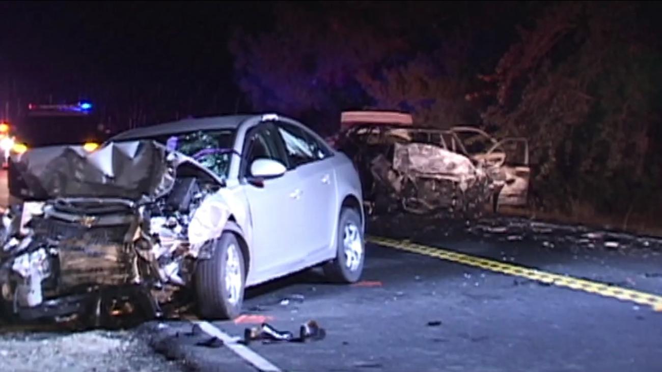 Fatal crash on Highway 121 investigated.