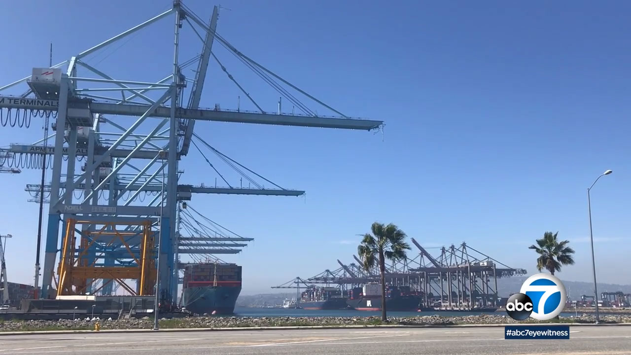 The popular tours allow people to get an up-close and personal, behind-the-scenes look at the Port of Long Beach.