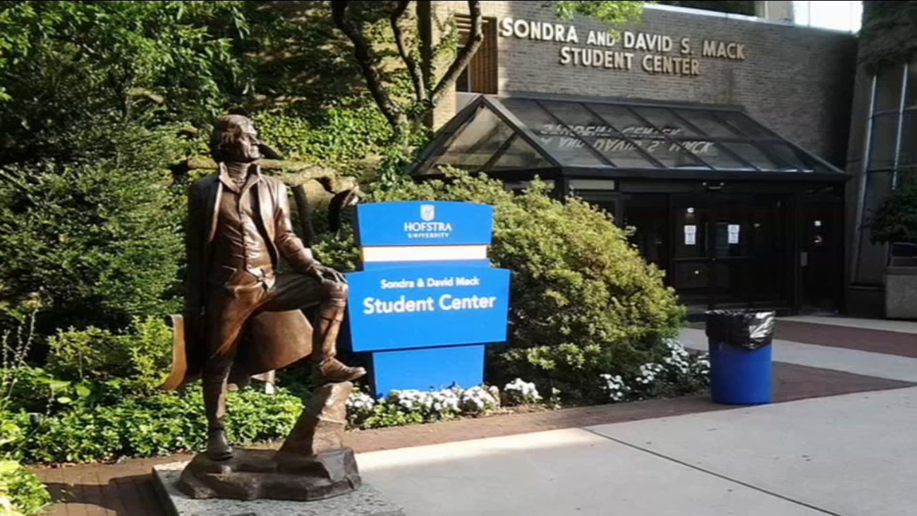 hofstra students hold protest counter protest over thomas jefferson