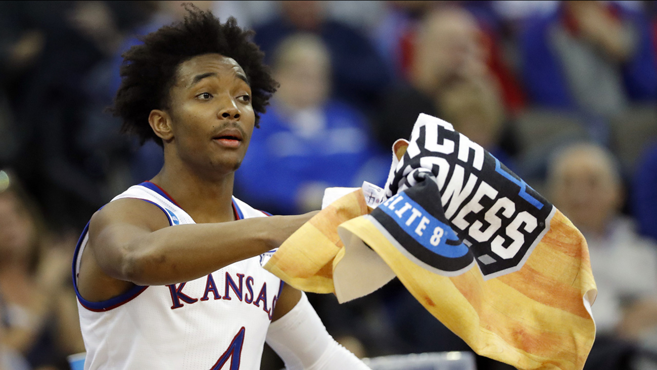 Raleigh native Devonte' Graham has flourished during March Madness and has his Kansas Jayhawks in the Final Four.