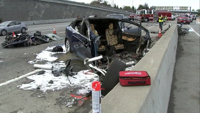 TIMELINE: ABC7 investigates deadly Tesla crash on Highway 101 in