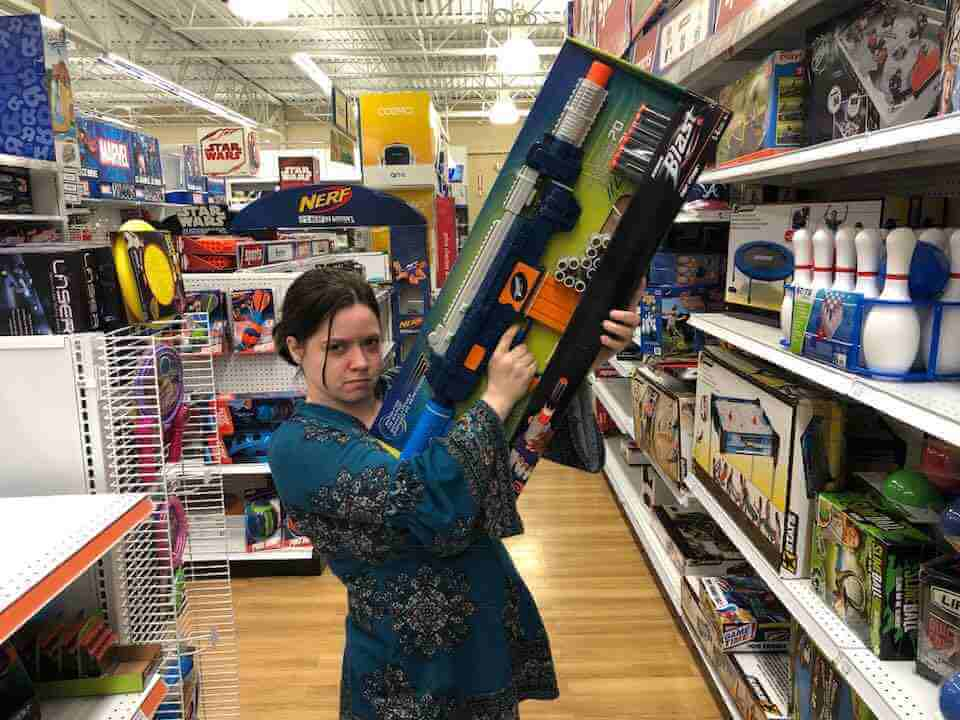 "<div class=""meta image-caption""><div class=""origin-logo origin-image none""><span>none</span></div><span class=""caption-text"">Nerf guns (Credit: Heather Leah)</span></div>"