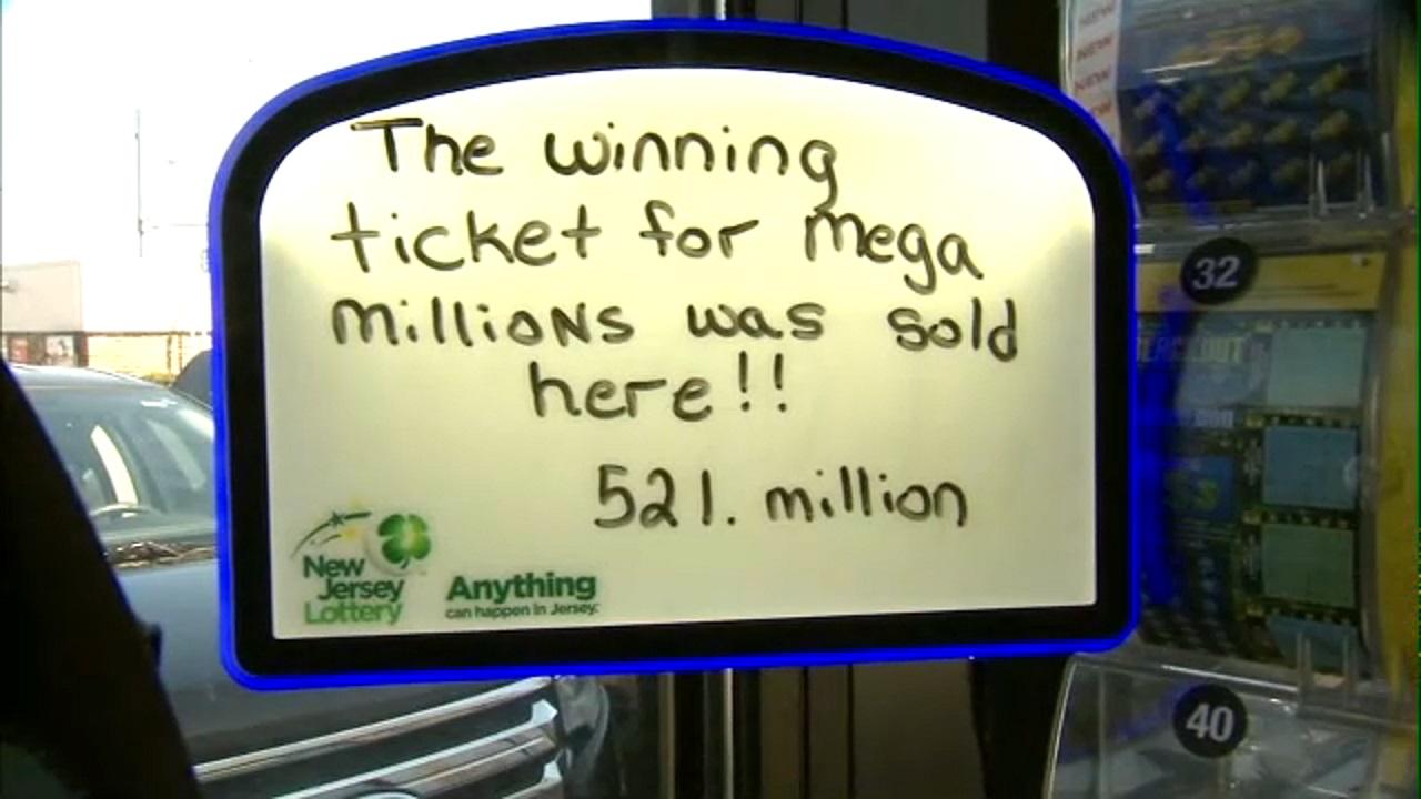 Winning 521 Million Mega Millions Ticket Sold In New Jersey