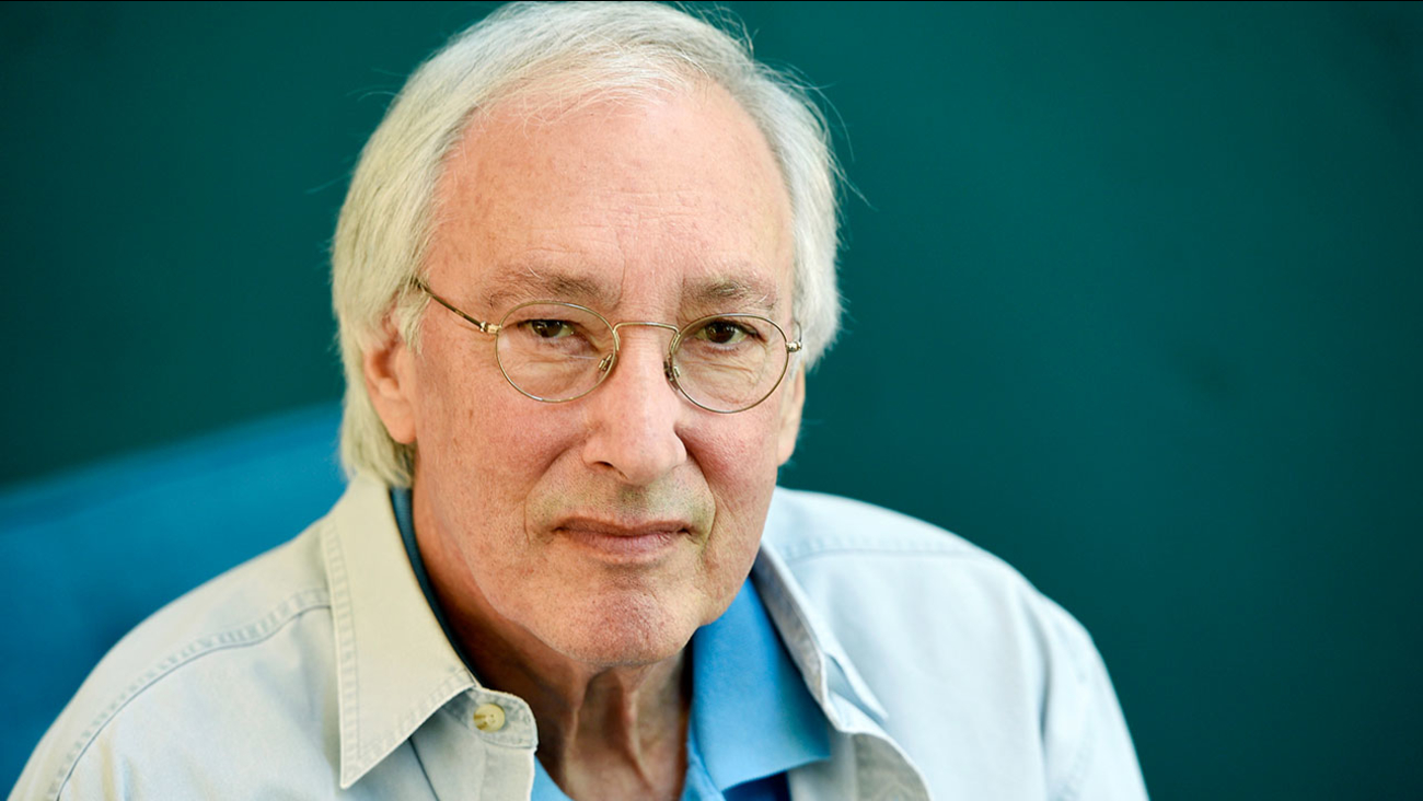 Television writer/producer Steven Bochco poses for a portrait in his Santa Monica office in this Aug. 17, 2016 file photo.
