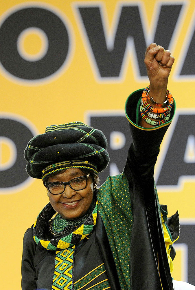 "<div class=""meta image-caption""><div class=""origin-logo origin-image none""><span>none</span></div><span class=""caption-text"">Winnie Mandela, an anti-apartheid activist who was married to the late South African President Nelson Mandela, has died. (Gallo Images / Sowetan / Veli Nhlapo ia Getty Images)</span></div>"
