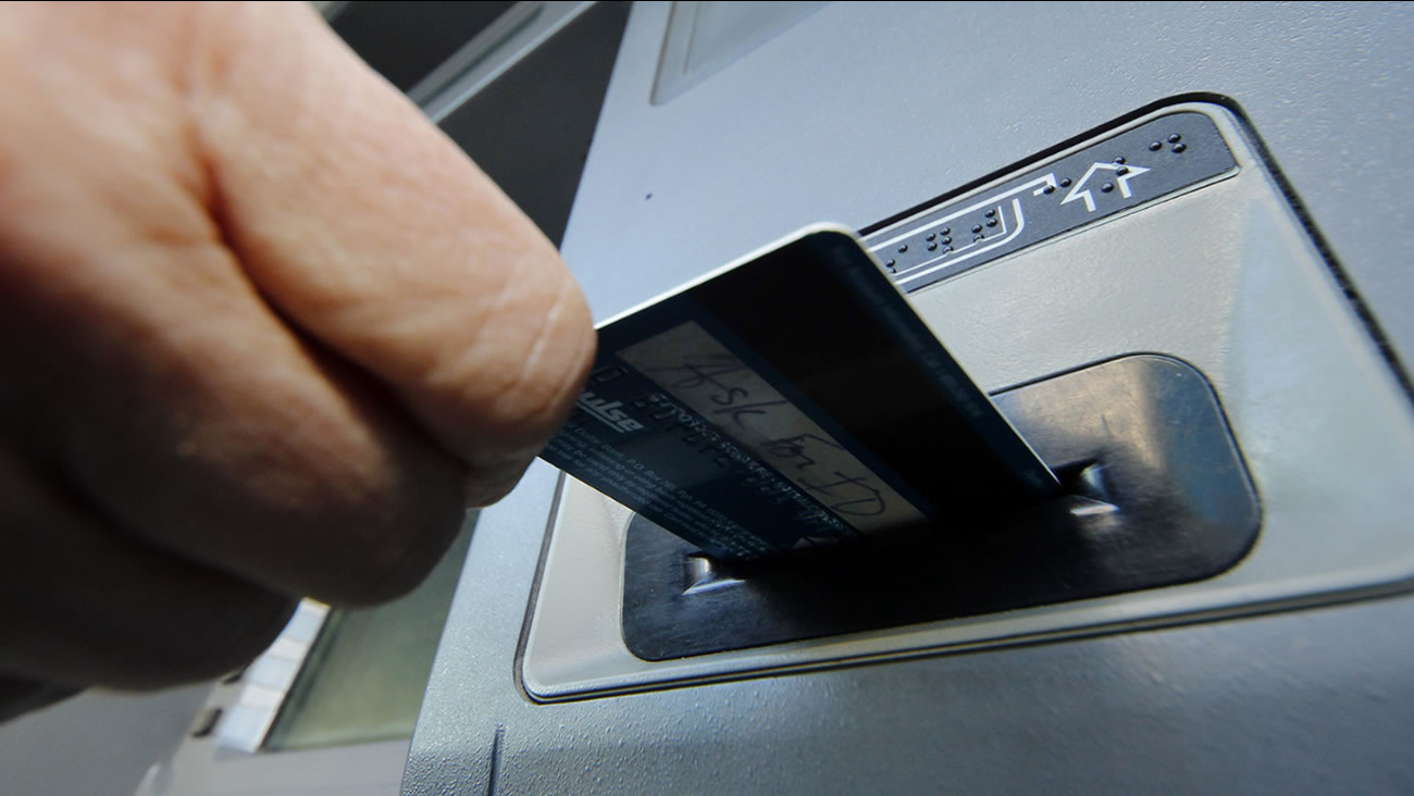 ATM card usage generic bank