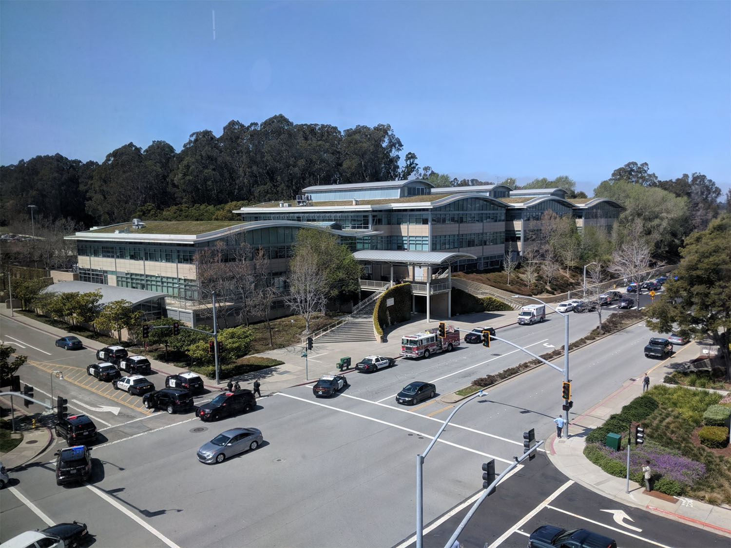 <div class='meta'><div class='origin-logo' data-origin='none'></div><span class='caption-text' data-credit='Mr_Rosewater/Twitter'>YouTube headquarters is under lockdown after reports of a shooting.</span></div>