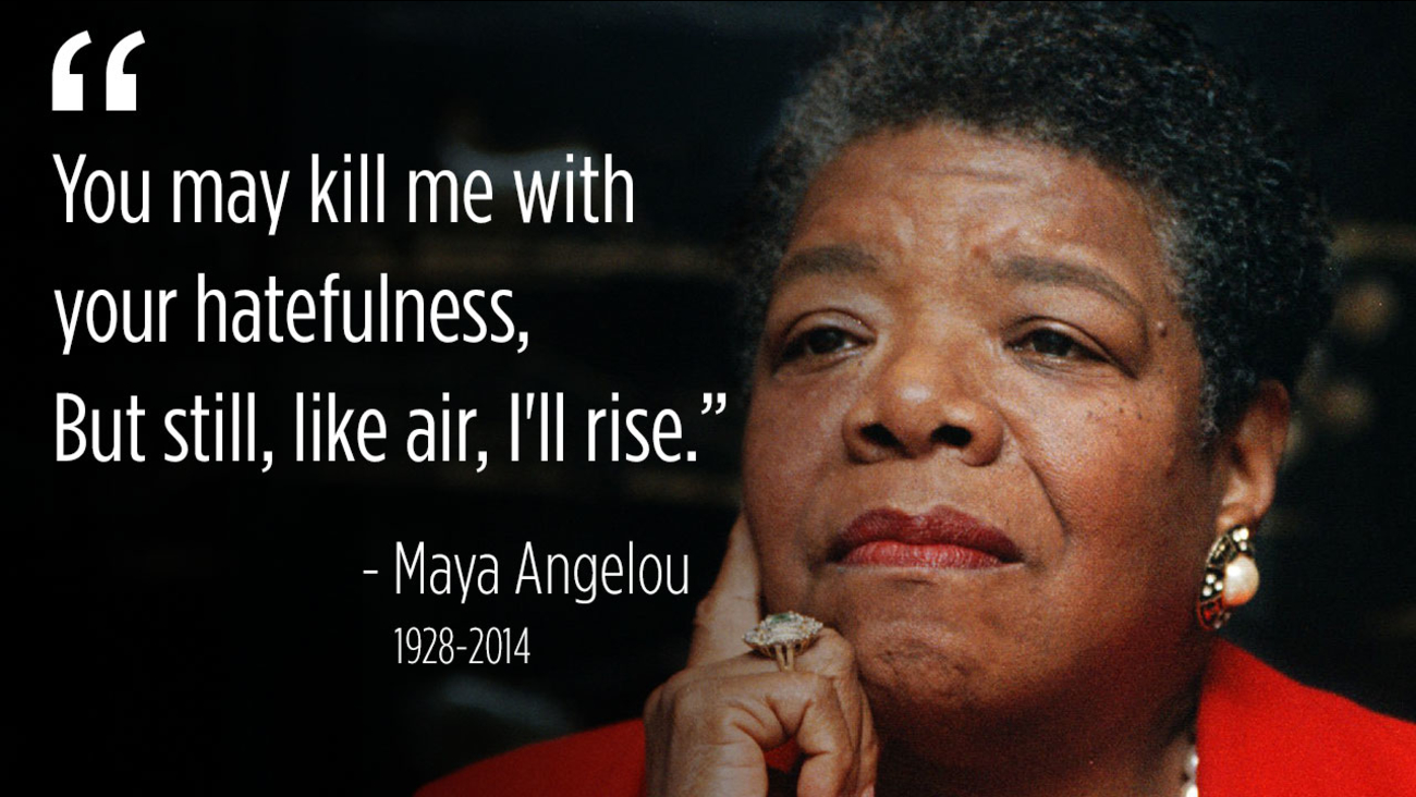 maya angelou quotes inspiring words to mark her 90th birthday abc7chicagocom