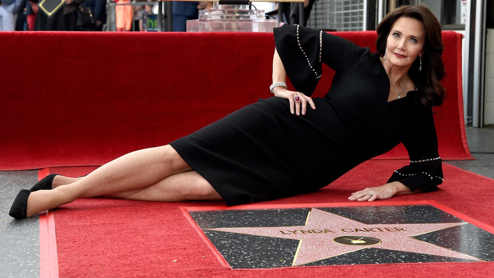 Wonder Woman' Lynda Carter gets star on Hollywood Walk of Fame - ABC7 San  Francisco