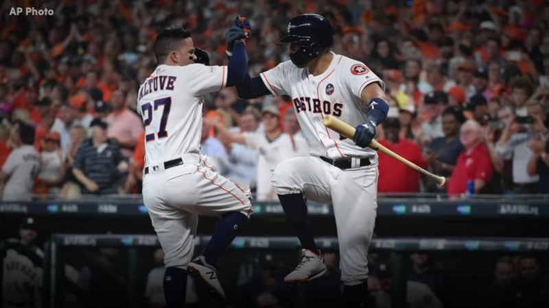outlet store 95265 521c5 Taking a look at Jose Altuve and Carlos Correa's friendship