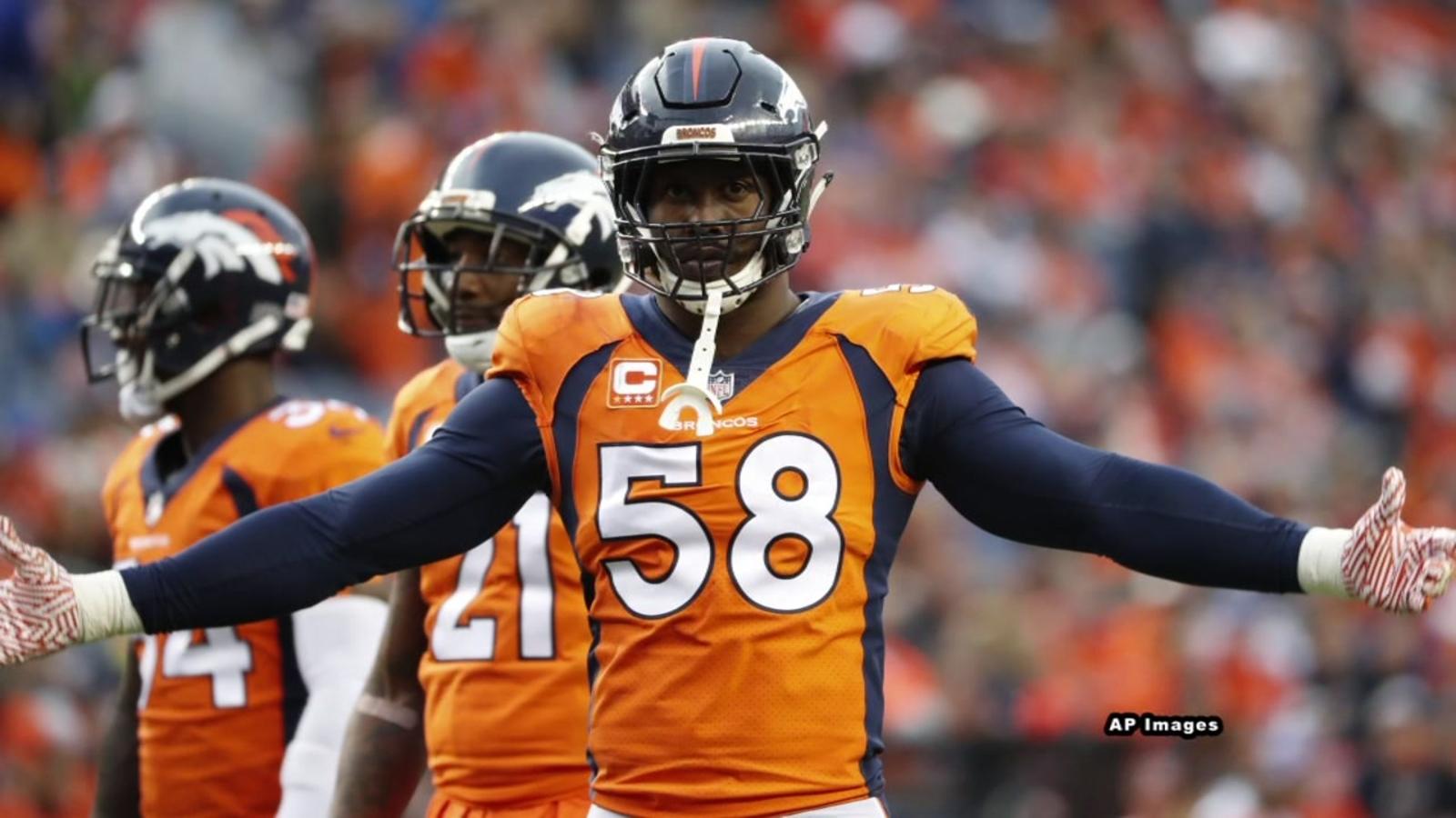 Denver Broncos' Von Miller under