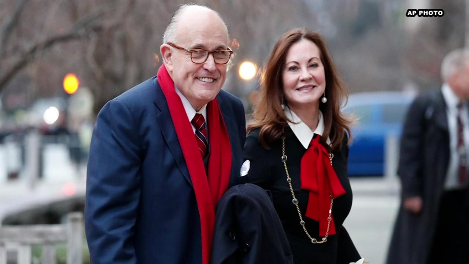 Rudy Giuliani S Third Wife Files For Divorce After 15 Years Of Marriage Abc13 Houston