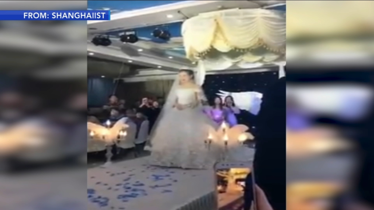 New Wedding Trend Involves Flying Veil 6abc
