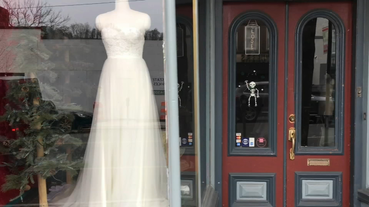 Viewers donate dresses after Manayunk bridal shop\'s sudden closure ...