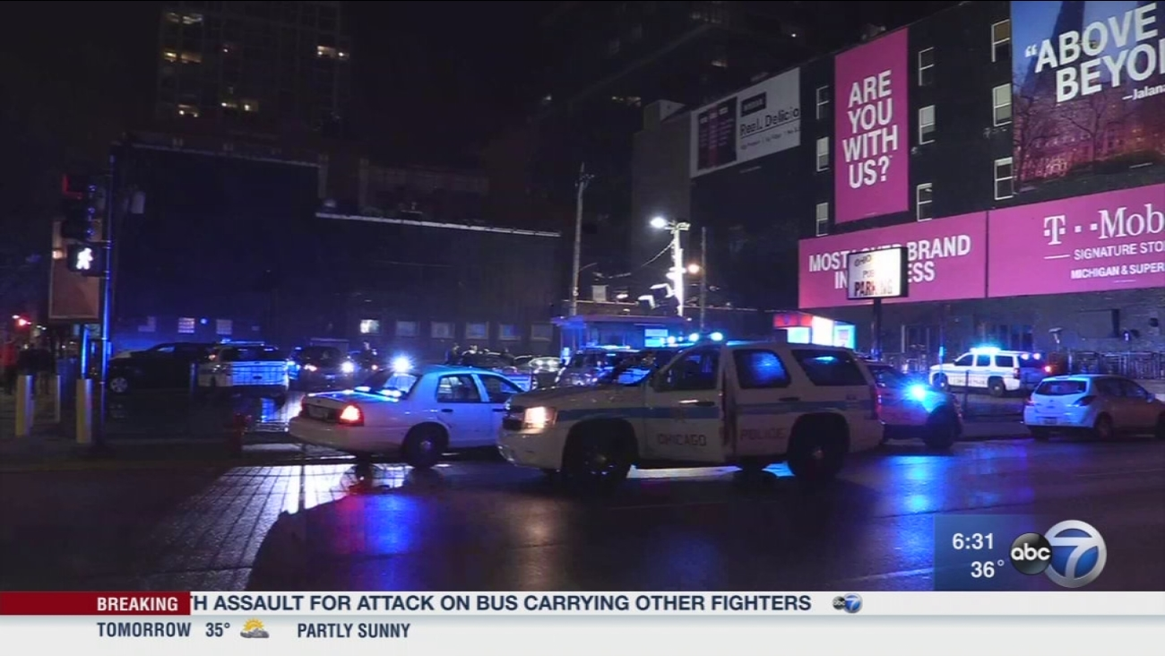 6 in custody in connection with 2 violent downtown robberies